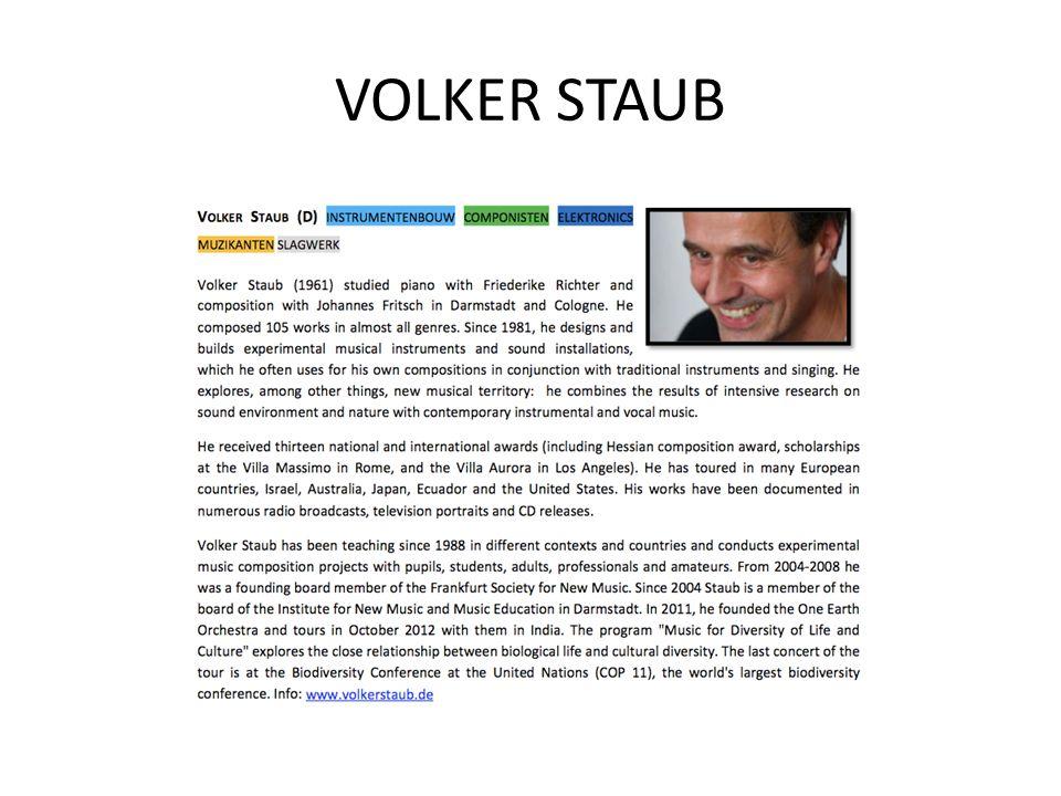 VOLKER STAUB