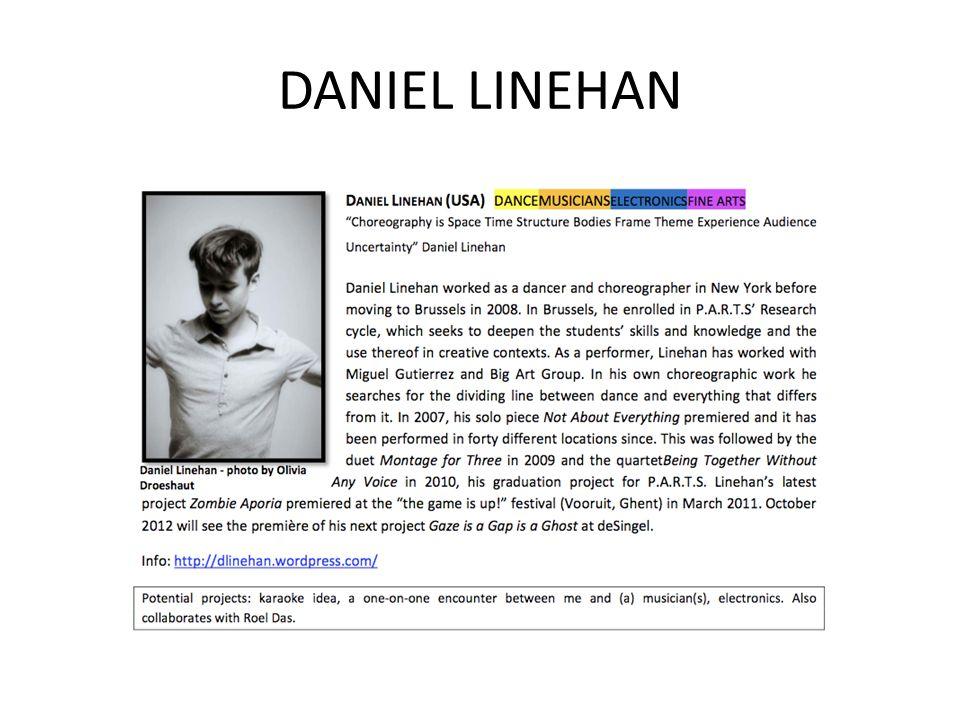 DANIEL LINEHAN