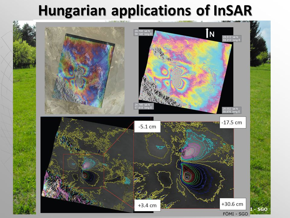 Hungarian applications of InSAR