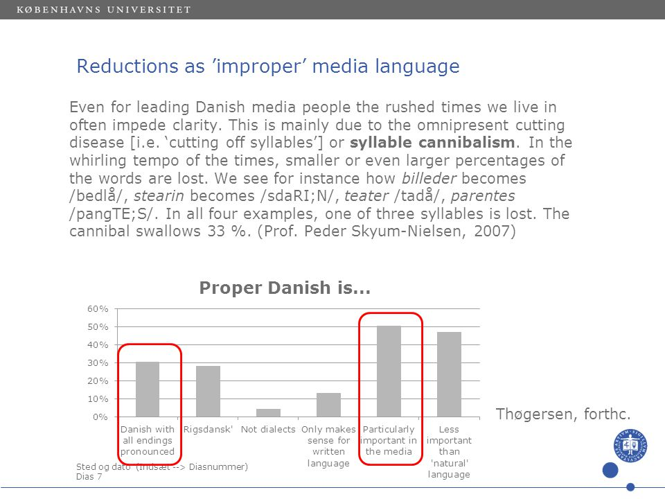 Sted og dato (Indsæt --> Diasnummer) Dias 6 Style changes: Increasing speed •The speaking rate and articulation rate increase noticeably •Fewer and shorter pauses (cf.