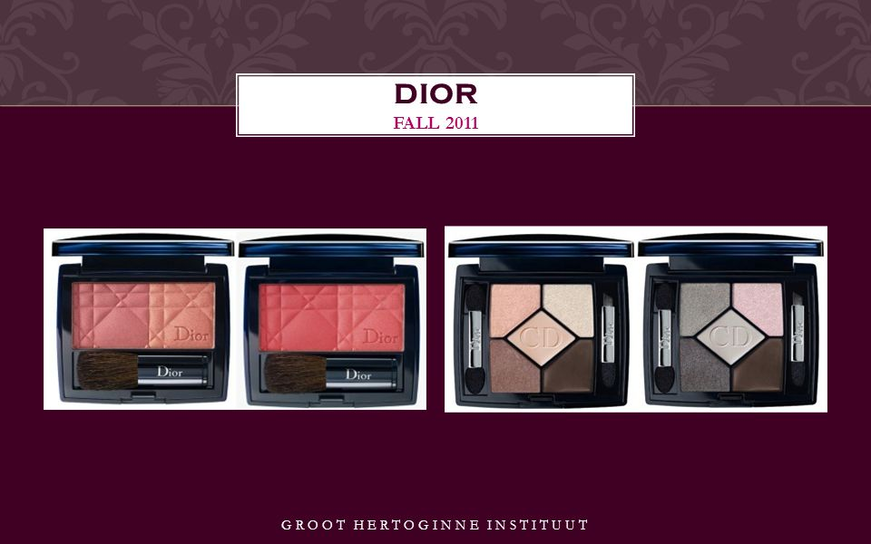GROOT HERTOGINNE INSTITUUT DIOR FALL 2011
