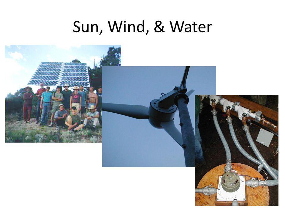 Sun, Wind, & Water