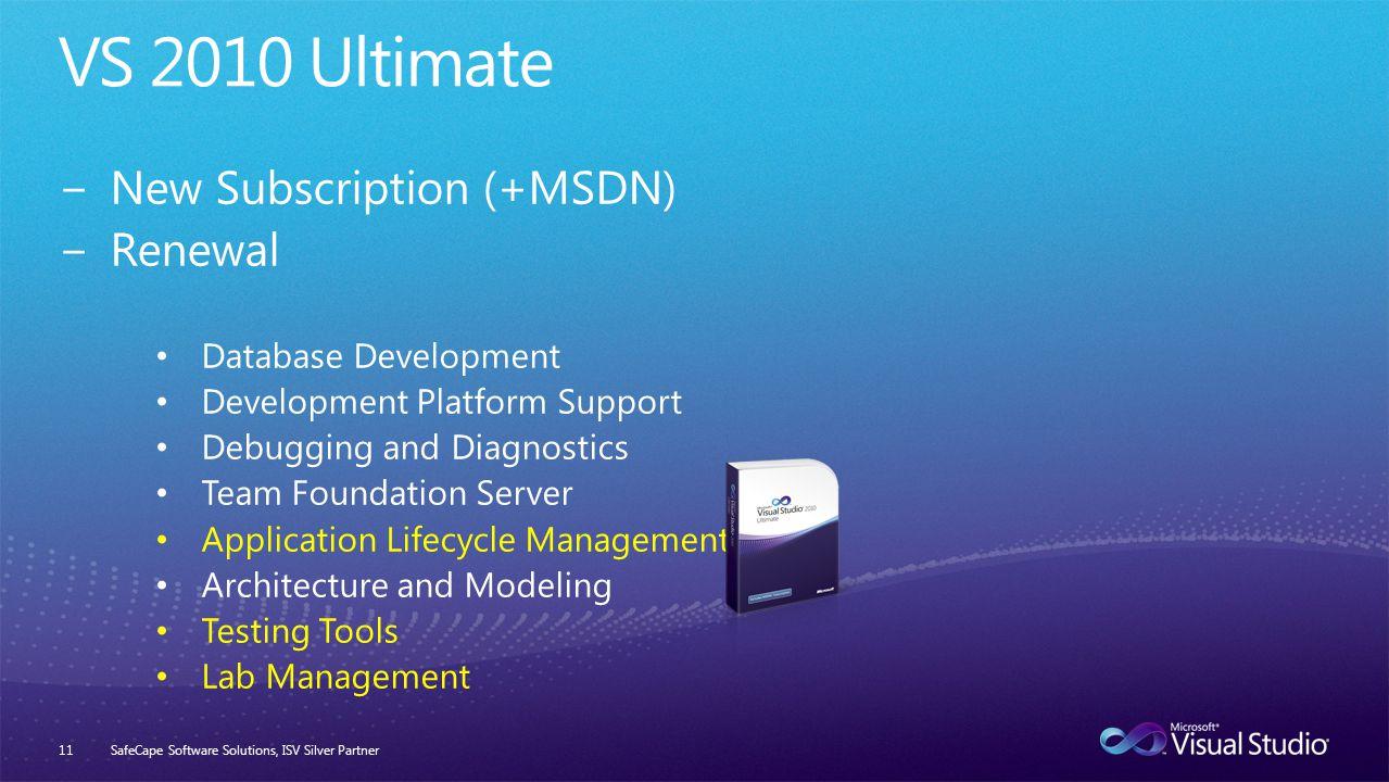 SafeCape Software Solutions, ISV Silver Partner11