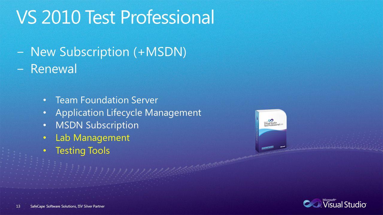 SafeCape Software Solutions, ISV Silver Partner13
