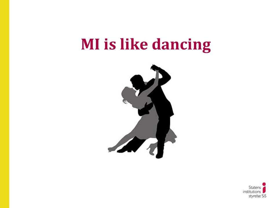 We try Consistent and inconsistent with MI • What do you think you need to do.