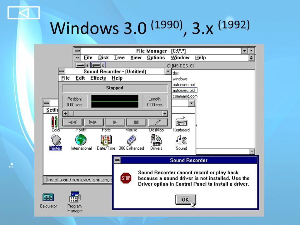 Windows 95 (Chicago) (1995)