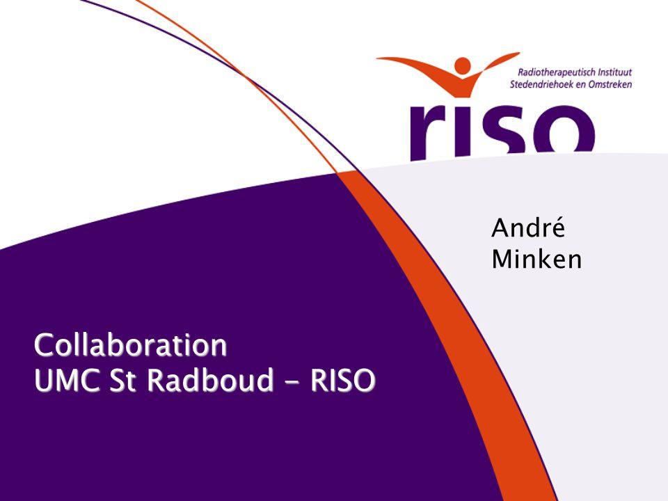 Collaboration UMC St Radboud - RISO André Minken
