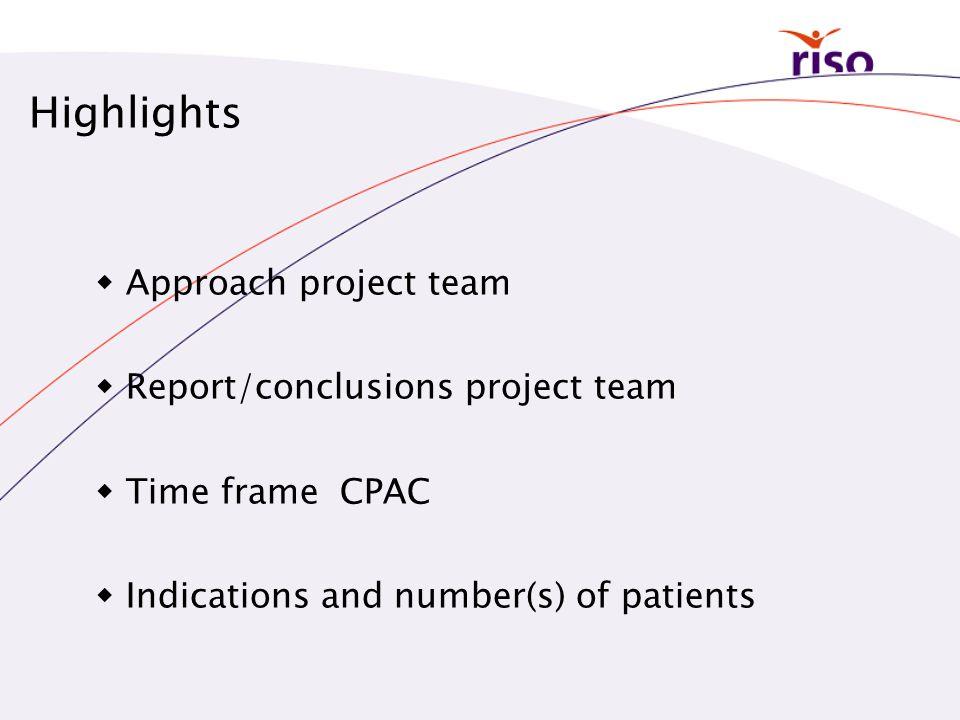 4 groepen indicaties • Standaard indicaties • Potentiële indicaties • Op modellen-gebaseerde indicaties • Verkleining van het risico op secundaire tumoren Rapport GR