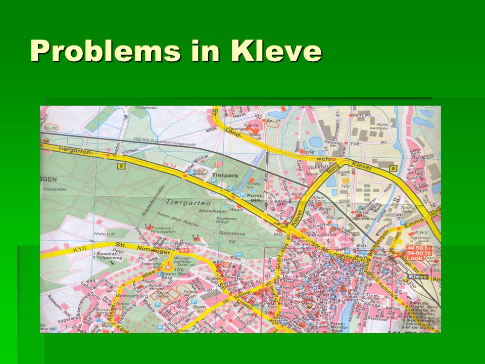 Problems in Kleve
