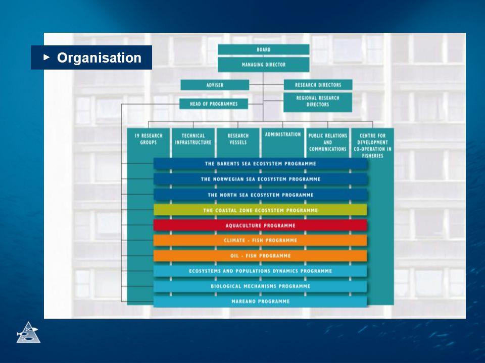 ▶ Organisation