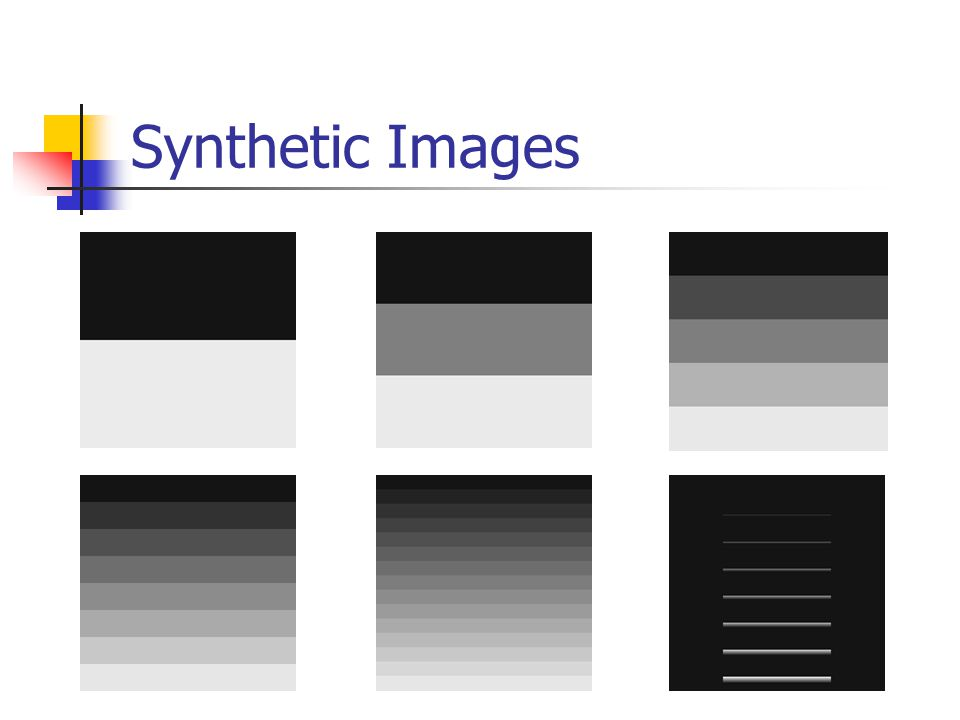 Synthetic Images