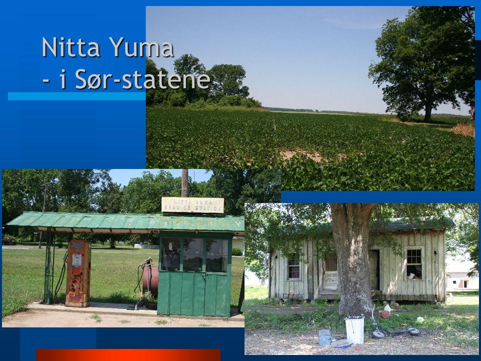 Nitta Yuma - i Sør-statene