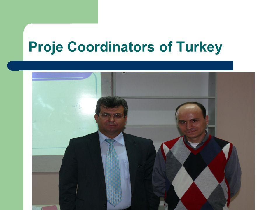 Proje Coordinators of Turkey