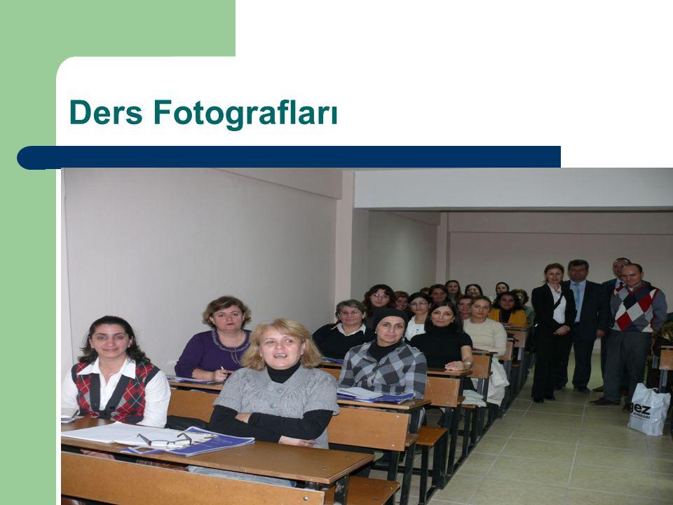 Ders Fotografları