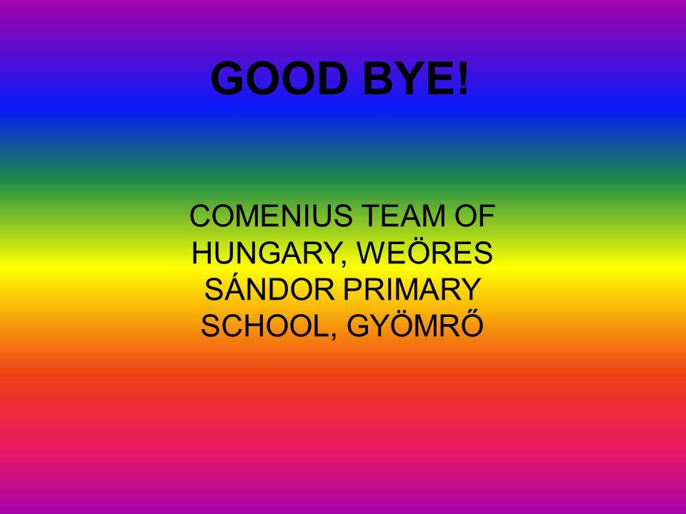 Hi, my name is Gergő Pósvári I go to the class 5/c. My school is Weöres Sándor Primary School.