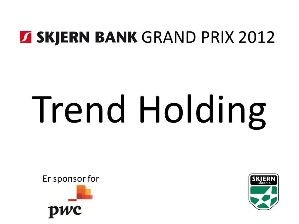 Trend Holding Er sponsor for