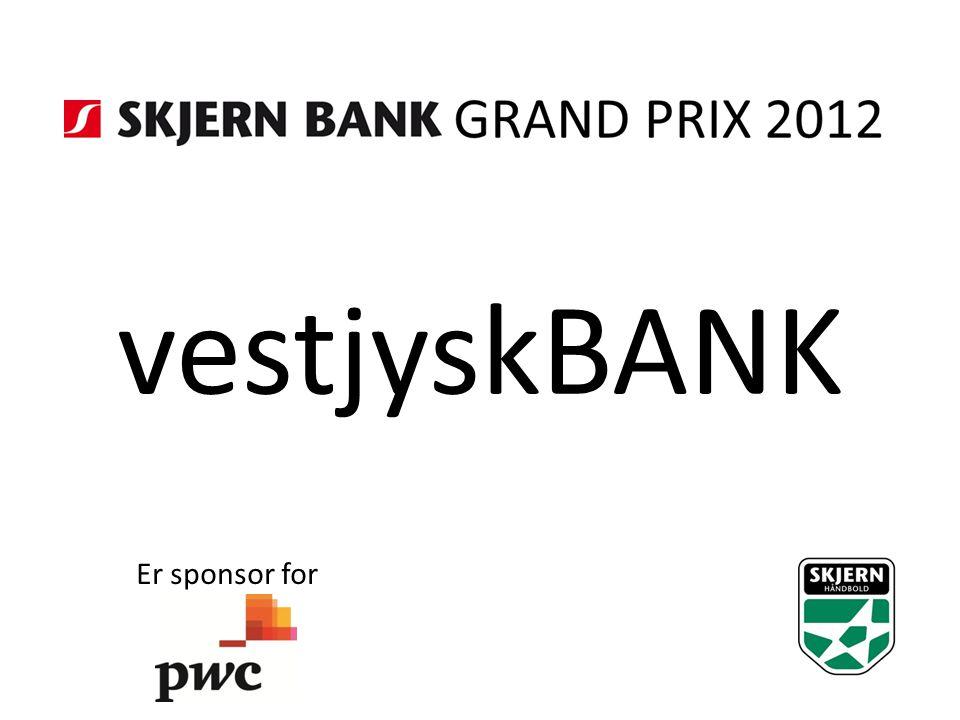 vestjyskBANK Er sponsor for