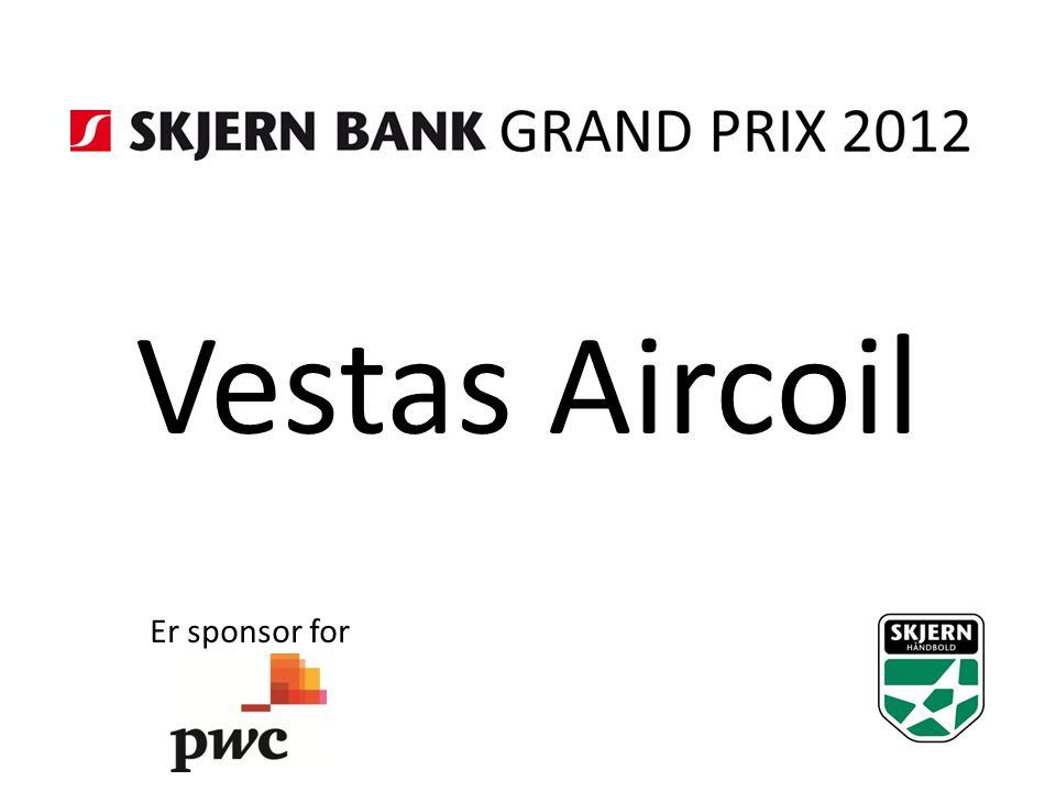Vestas Aircoil Er sponsor for