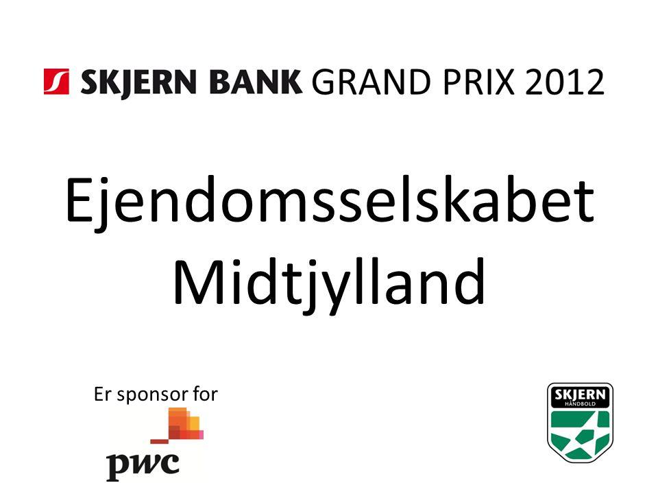 Ejendomsselskabet Midtjylland Er sponsor for