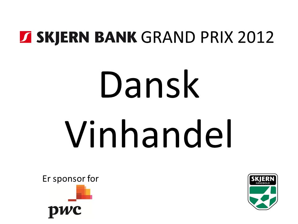 Dansk Vinhandel Er sponsor for