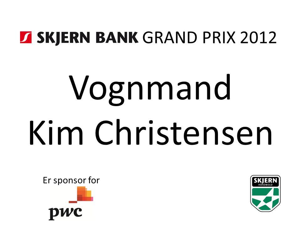 Vognmand Kim Christensen Er sponsor for