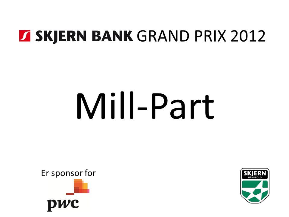 Mill-Part Er sponsor for