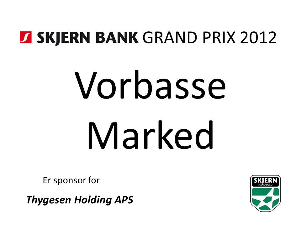 Vorbasse Marked Er sponsor for Thygesen Holding APS
