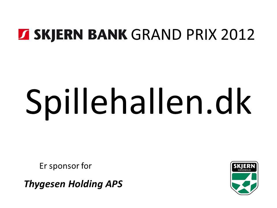 Spillehallen.dk Er sponsor for Thygesen Holding APS