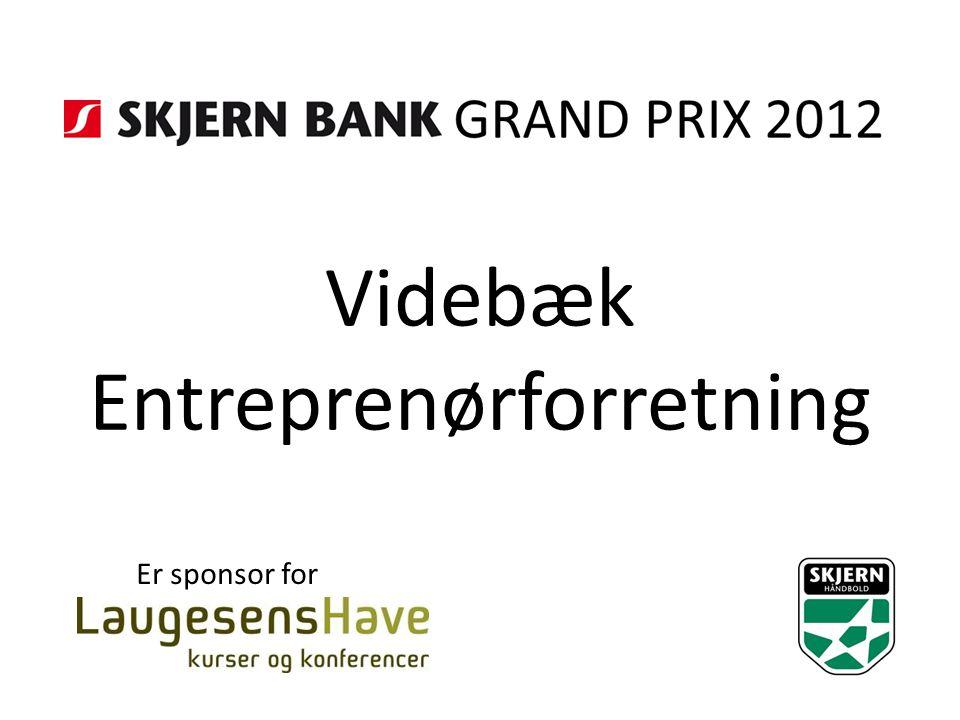 Videbæk Entreprenørforretning Er sponsor for