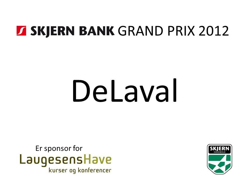 DeLaval Er sponsor for