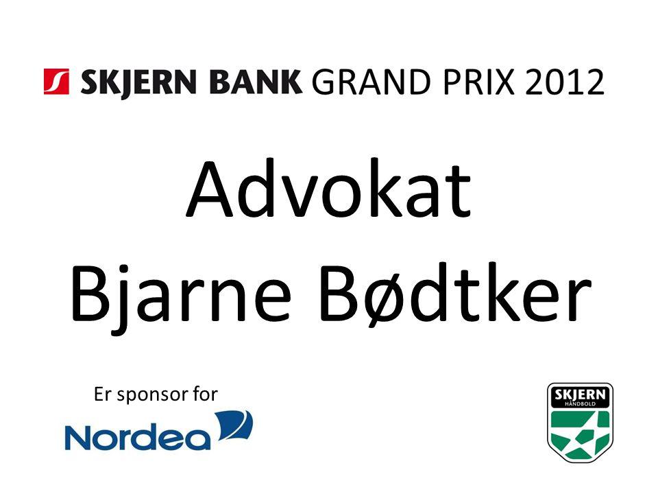 Advokat Bjarne Bødtker Er sponsor for