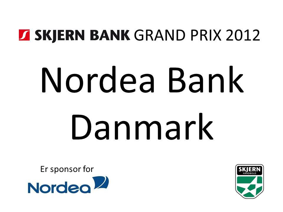 Nordea Bank Danmark Er sponsor for