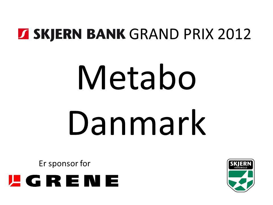 Metabo Danmark Er sponsor for