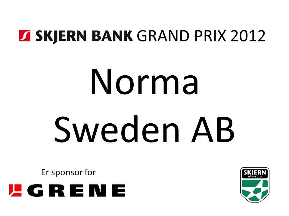 Norma Sweden AB Er sponsor for