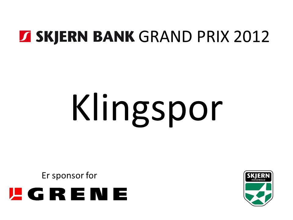 Klingspor Er sponsor for