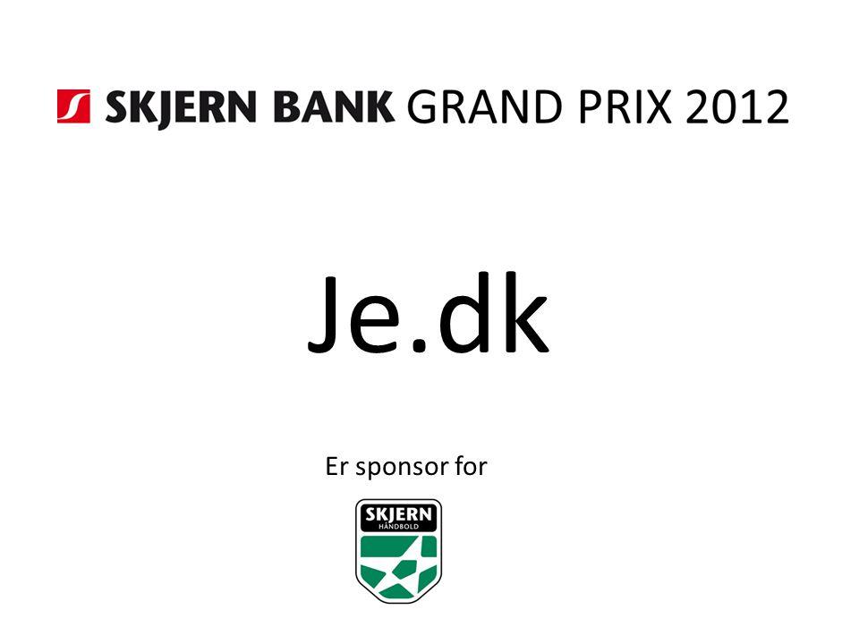 Je.dk Er sponsor for