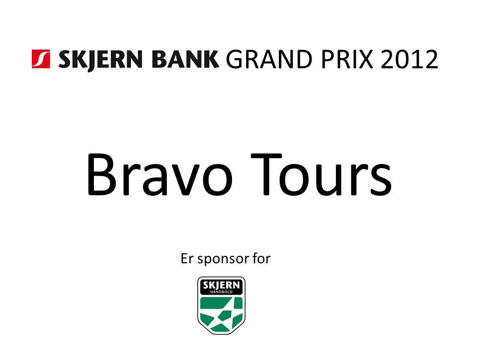 Bravo Tours Er sponsor for