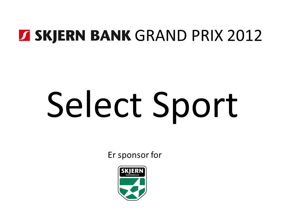 Select Sport Er sponsor for