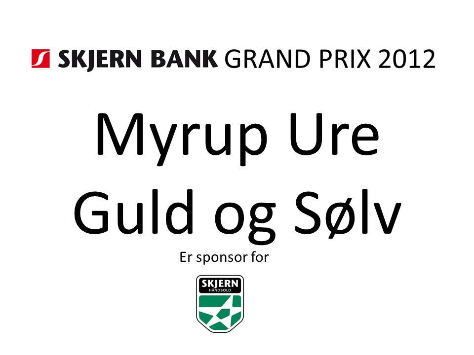 Myrup Ure Guld og Sølv Er sponsor for