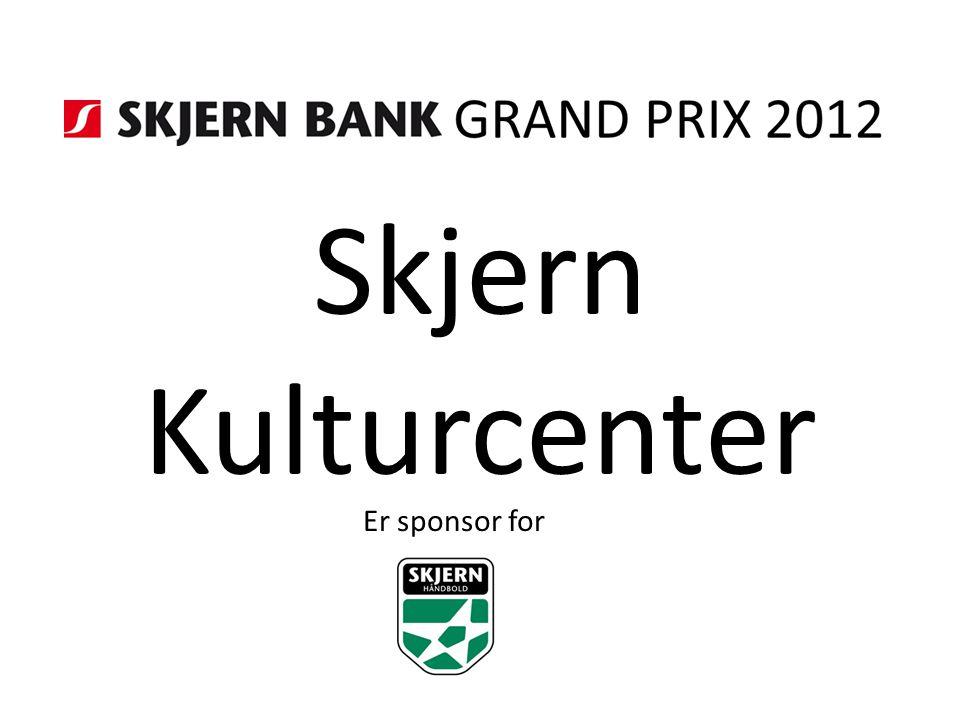 Skjern Kulturcenter Er sponsor for