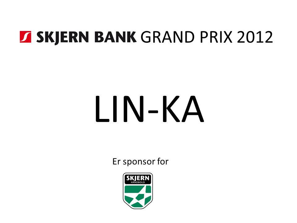 LIN-KA Er sponsor for