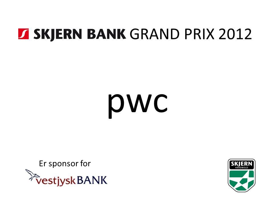 pwc Er sponsor for