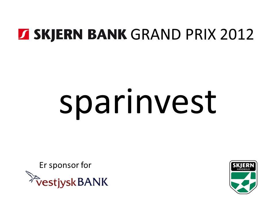 sparinvest Er sponsor for