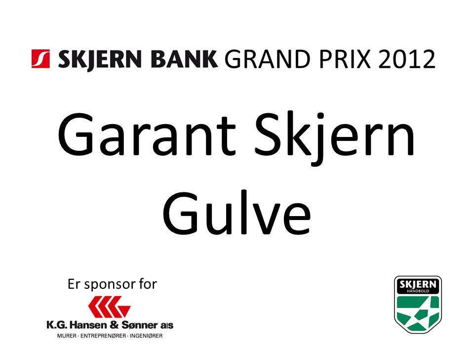 Garant Skjern Gulve Er sponsor for