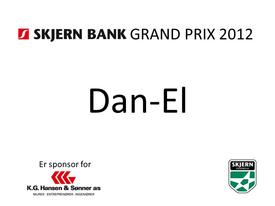 Dan-El Er sponsor for