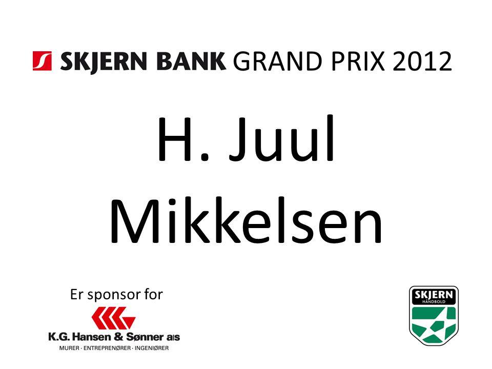 H. Juul Mikkelsen Er sponsor for