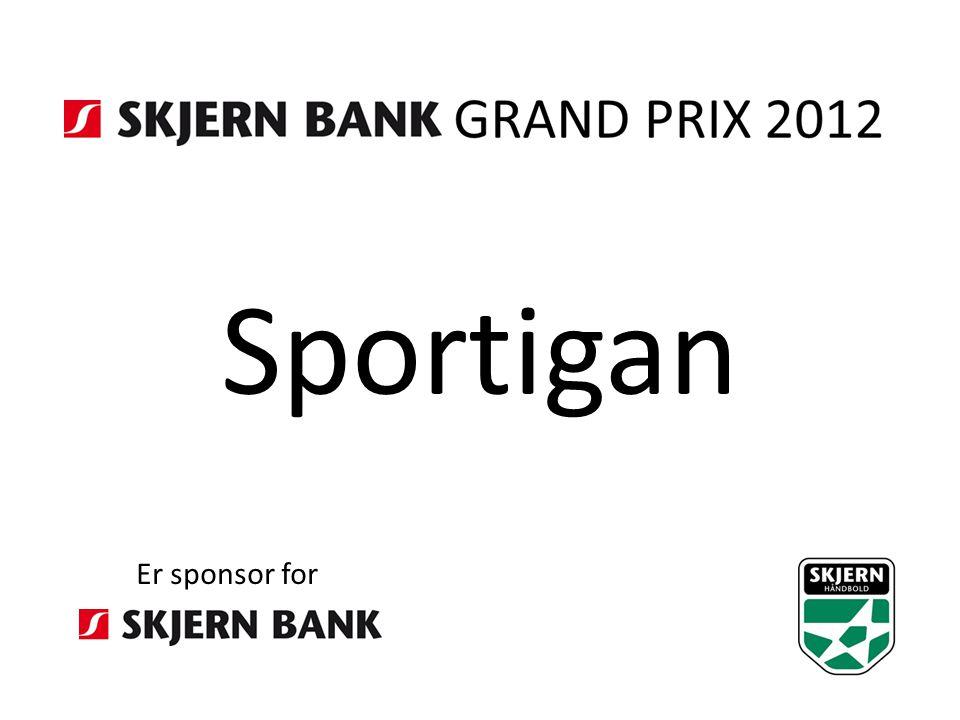 Sportigan Er sponsor for
