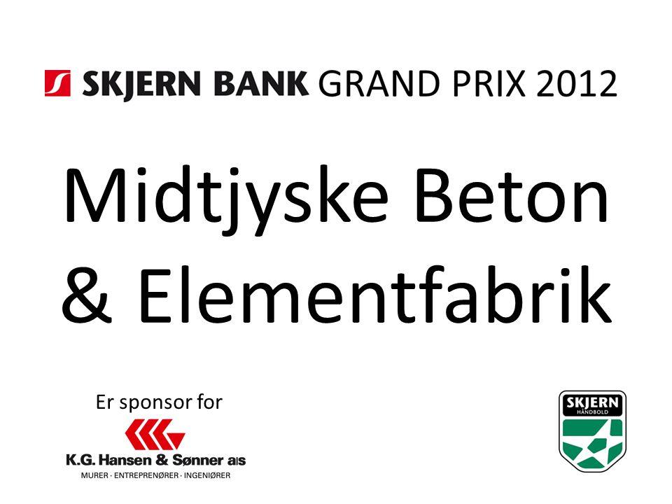 Midtjyske Beton & Elementfabrik Er sponsor for