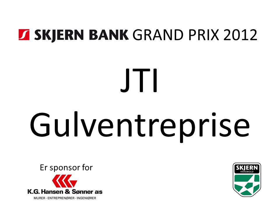 JTI Gulventreprise Er sponsor for