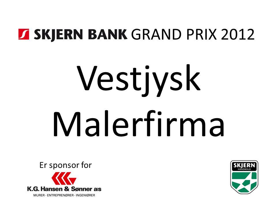 Vestjysk Malerfirma Er sponsor for